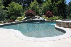 Backyard Pool Installation
