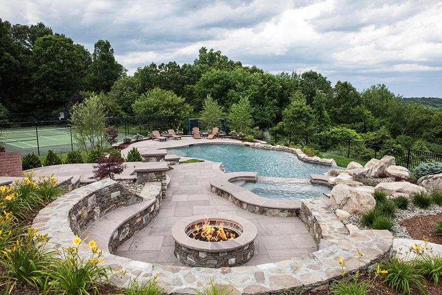 Since 1966, Ferrari Pools Has Been A Premiere Custom Gunite Pool Builder  Serving All Of New England. Swimming Pool Design ...