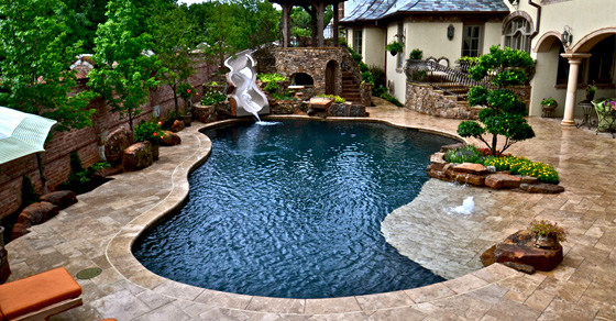 Five most unique custom pool designs ferrari pools for Custom pool designs