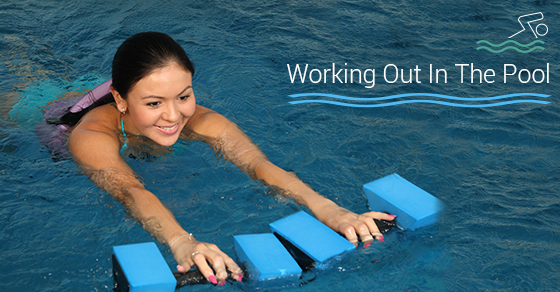 Working Out In The Pool