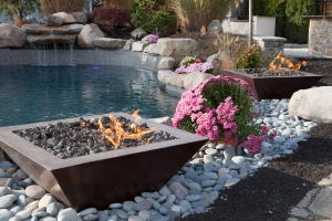 Outdoor Fire Pit Design Display