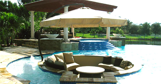 Pool And Lounge