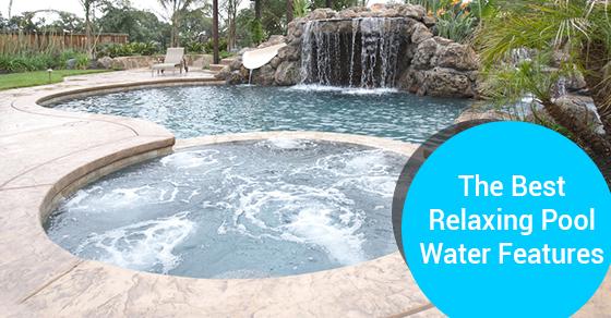 4 Modern Water Feature Ideas That Set A Relaxing Mood Ferrari Pools