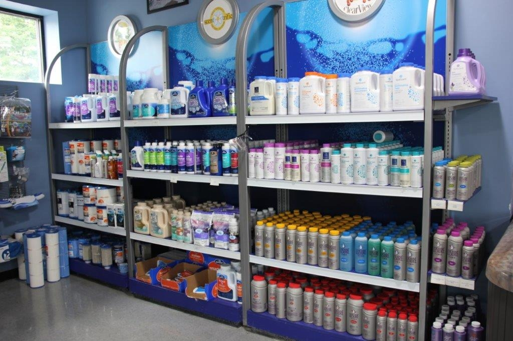 Swimming pool care products near Boston