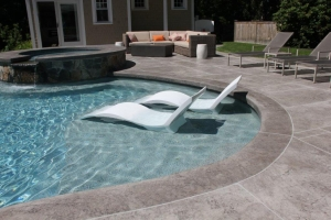 Custom Swimming Pool Furniture Boston